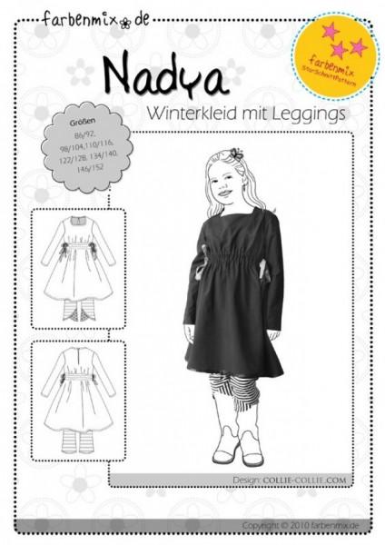 NADYA, Winterkleid mit Leggings, FM-Schnittmuster *SALE*