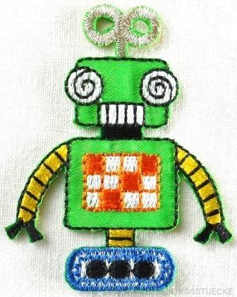 Applikation Roboter, grün
