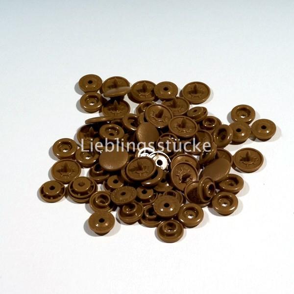 KAM Snaps, 10 Stück Packung, Bronze - 11