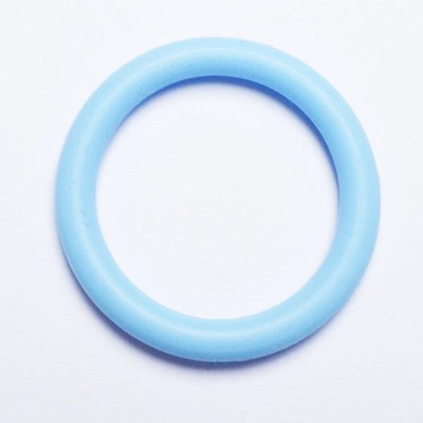 O-Ringe für Schnuller, hellblau