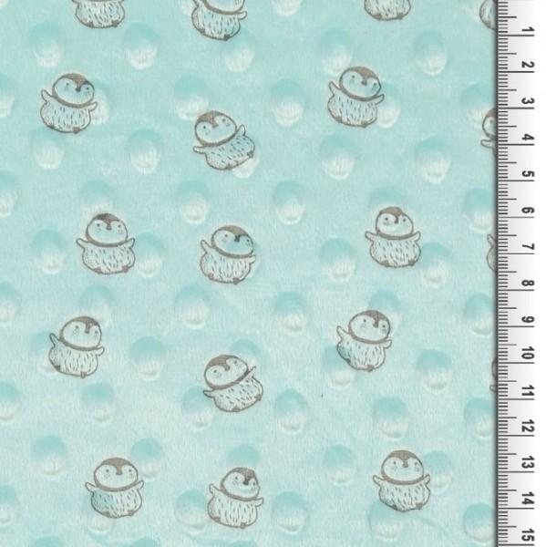 Pingu, Minky-Fleece mint