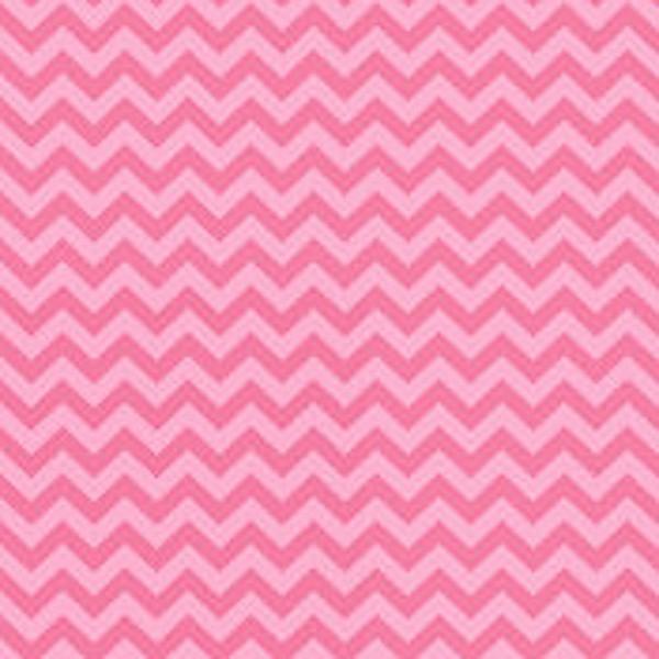 Chevron pink, Popeline