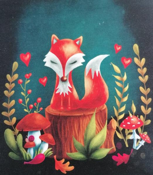 Fuchs im Wald, Paneel, Sweat