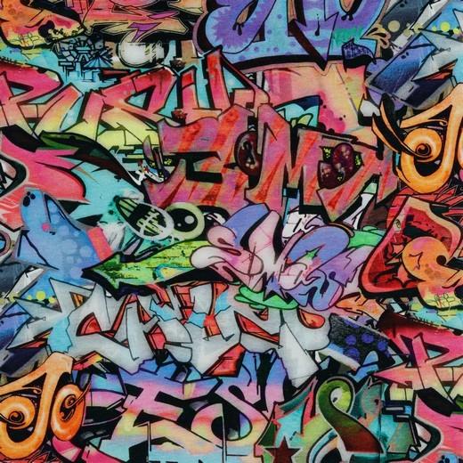 Graffiti bunt, Bio-Sweat