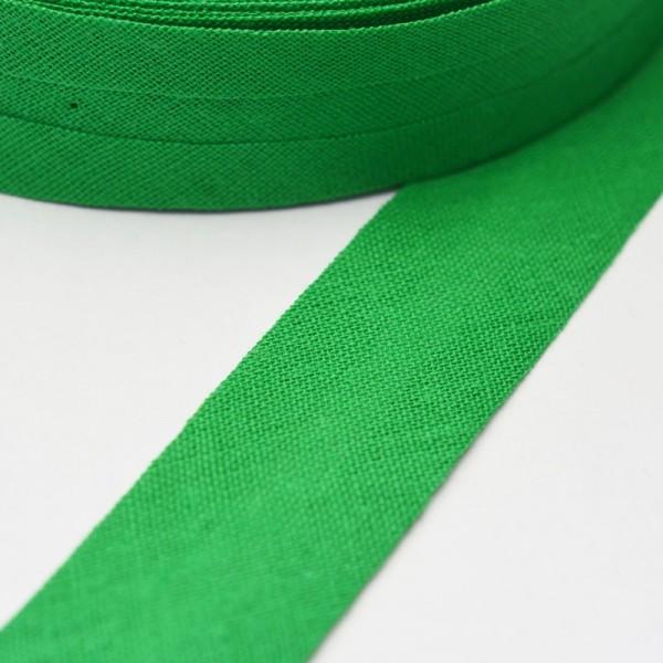 Schrägband, 20 mm, grün