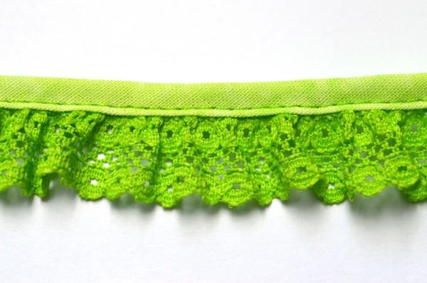 Netzspitze, grün, 20 mm