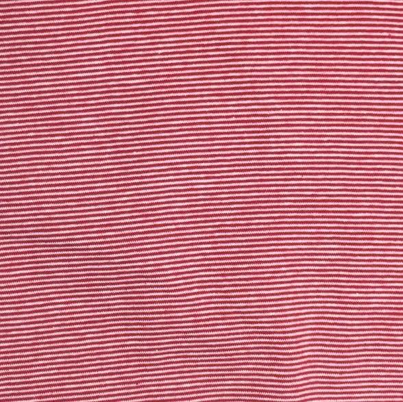 Mini-Ringelbündchen, rot/weiß gestreift