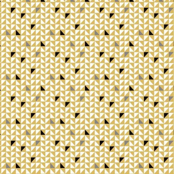 Pretty Triangels senf, Baumwollstoff