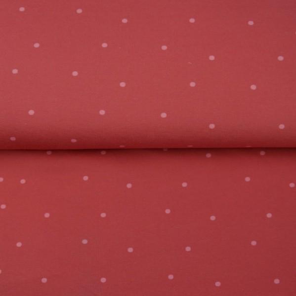 Stenzo Jersey Pünktchen rosa auf himbeer
