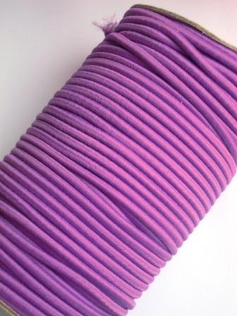 Package Rundgummi, violett - 5 Meter