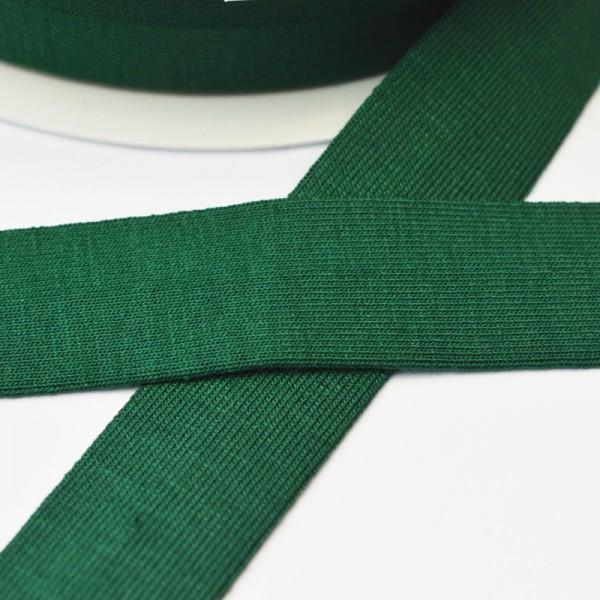 Viskosejersey-Schrägband, dunkelgrün