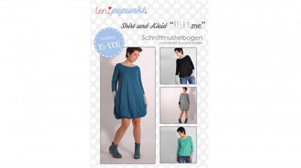 Shirt/Kleid RELAX.me, lenipepunkt Schnittmuster