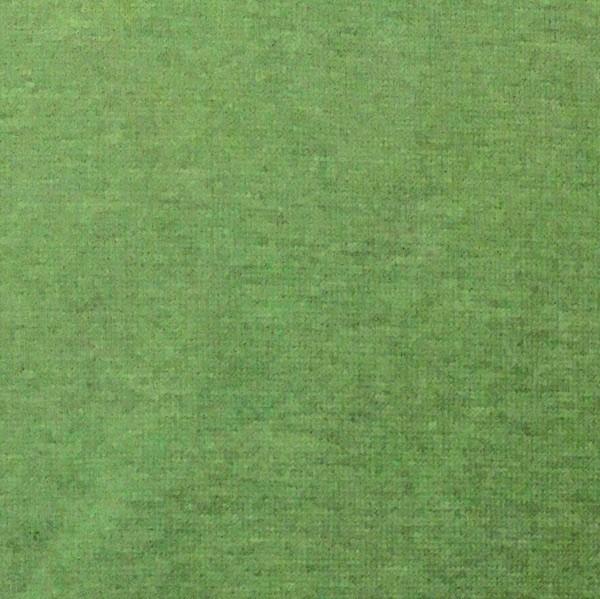 Glattes Bündchen waldgrün-meliert