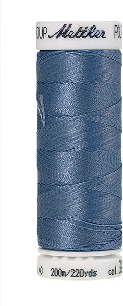 Poly Sheen Stickgarn, jeans (3641)