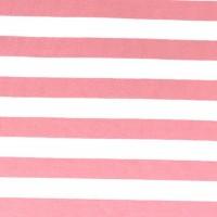 Alberto Bio-Jersey Streifen rosa/weiß