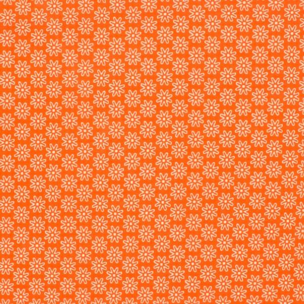 Miri kleine Blüten orange, Jersey