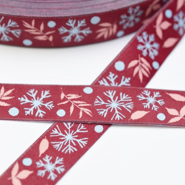 Snowflake, rot, Webband