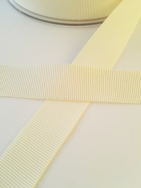 Ripsband, offwhite