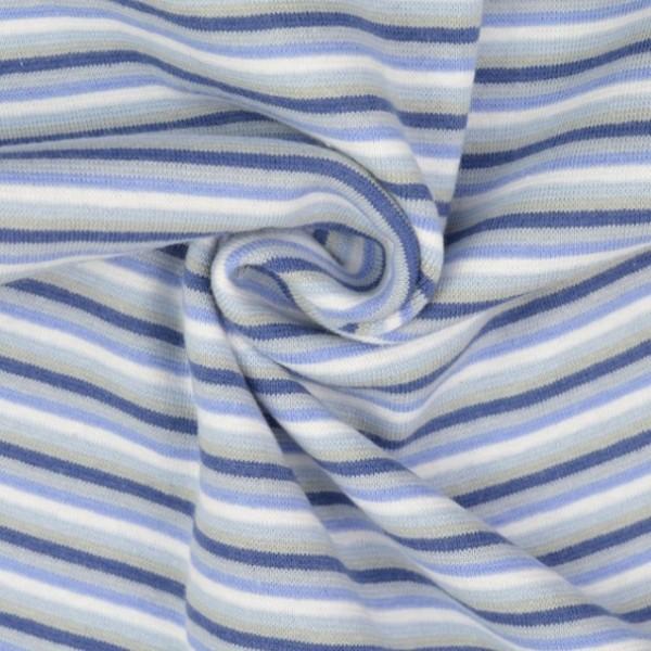 Linus Ringelbündchen blau/weiß gestreift