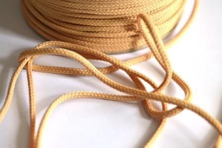 Schnur, 4 mm, cappucino