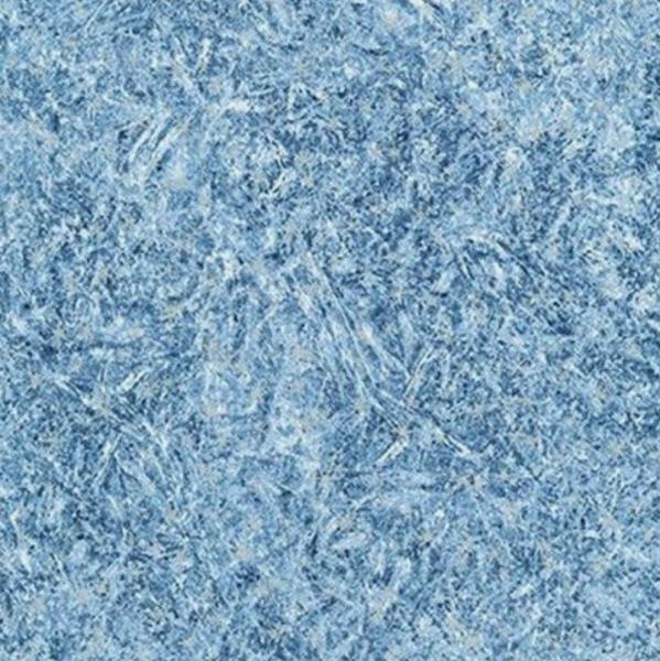 R.Kaufman, First Snow Friends, Metallic Frost blau, Baumwollstoff