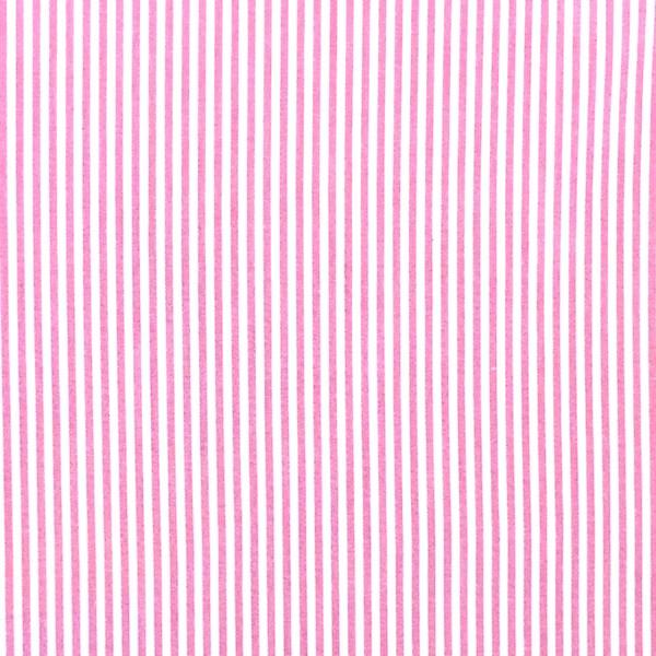 Streifen pink, Yarn Dyed, Baumwollpopeline, waschbar bei 60°