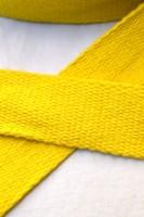 Baumwollgurtband, sonnengelb, 3 cm