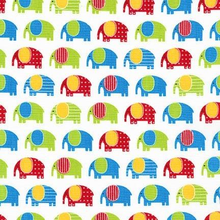 R. Kaufman, Urban Zoologie Mini-Elephants bunt