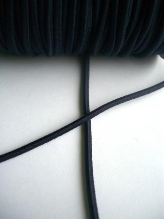 Gummischnur, 3 mm, dunkelblau