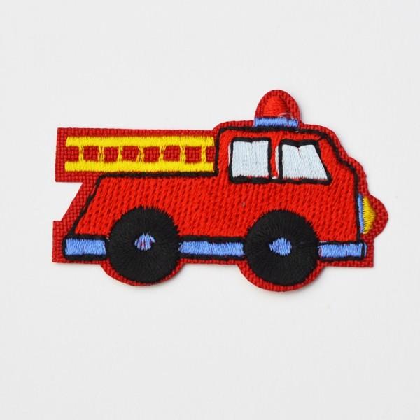 Applikation Feuerwehr, rot-blau