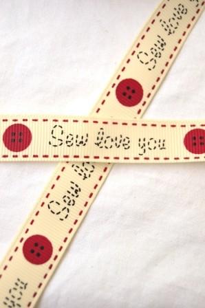 Sew love you, Ripsband