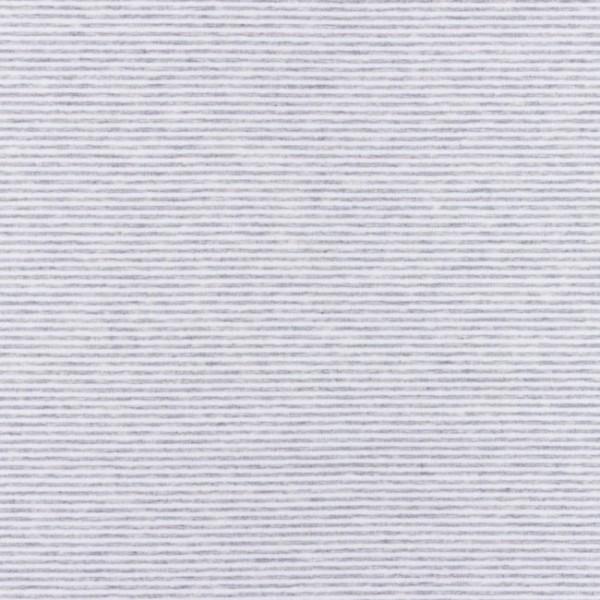 Jersey, Schmale Streifen grau-meliert-weiß