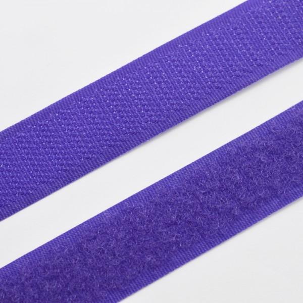Klettverschluss, dunkles violett
