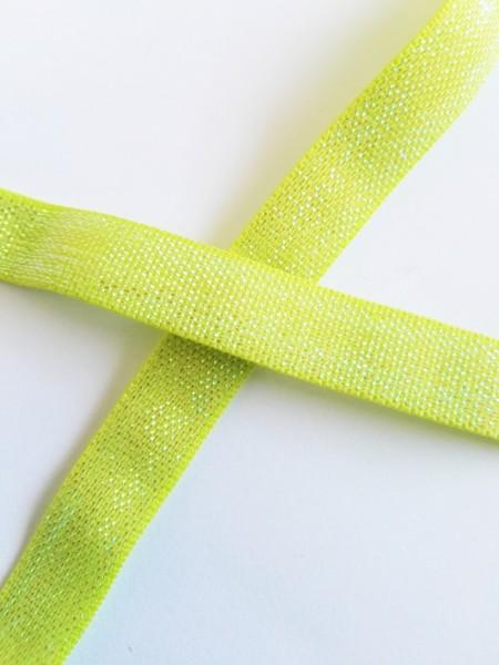 Gummiband, irisierend hellgrün