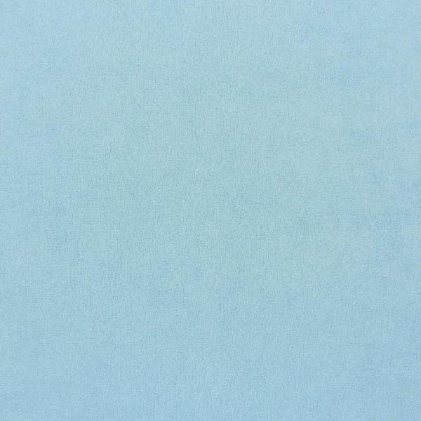 Stretchfrottee-Jersey, hellblau