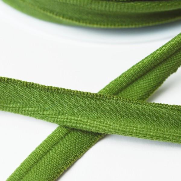 elastische Paspel, waldgrün