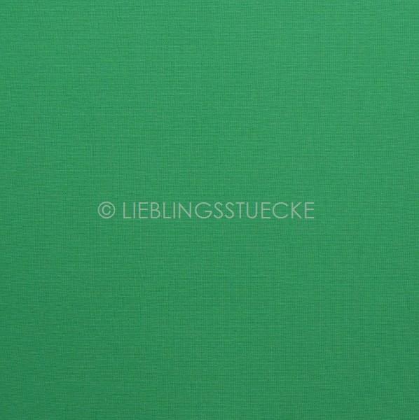 Glattes Bündchen grün