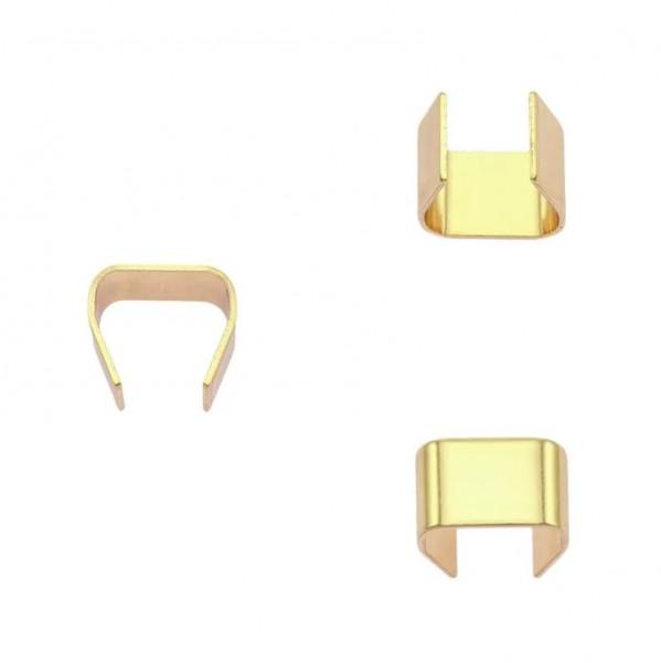 Seilklemme, gold, 6 mm