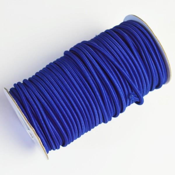 Gummischnur, 3 mm, royalblau