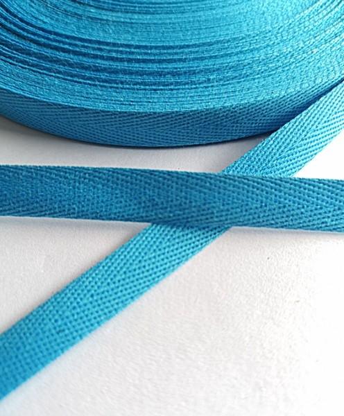 Köperband, 10 mm, helles türkis