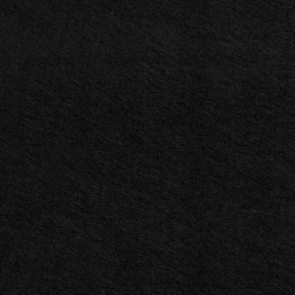 Filz 3 mm dick schwarz