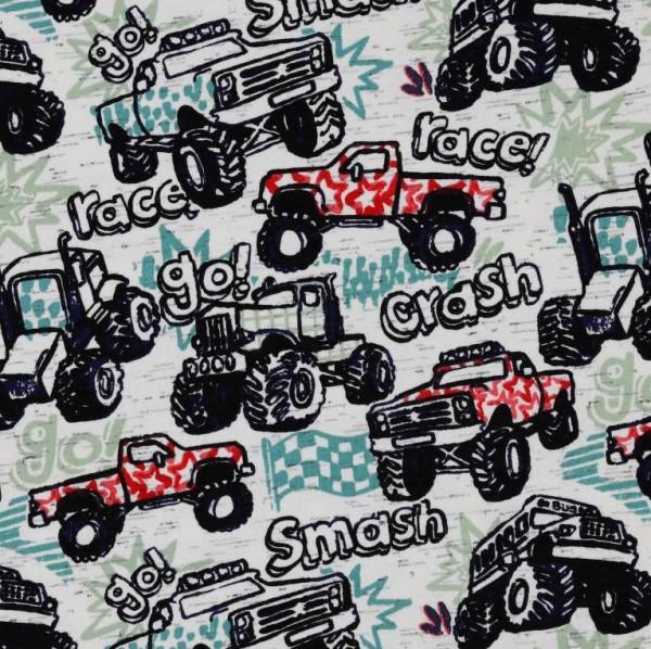 Jersey, Tractor-Race, hellgrau-meliert