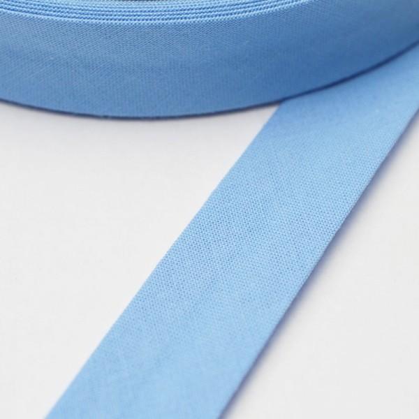 Schrägband, 20 mm, himmelblau