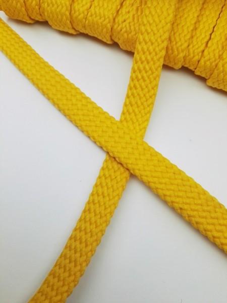 Hoodieband, 10 mm, gelb