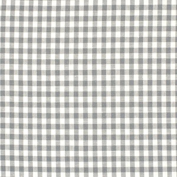 Vichykaro, mittel, hellgrau-weiß kariert