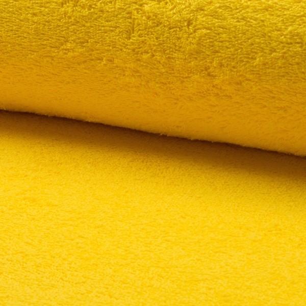 Frottee, gelb