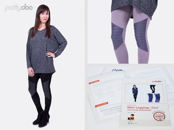 Tara, Leggings, pattydoo-Schnittmuster