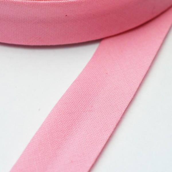 Schrägband, 20 mm, rosa