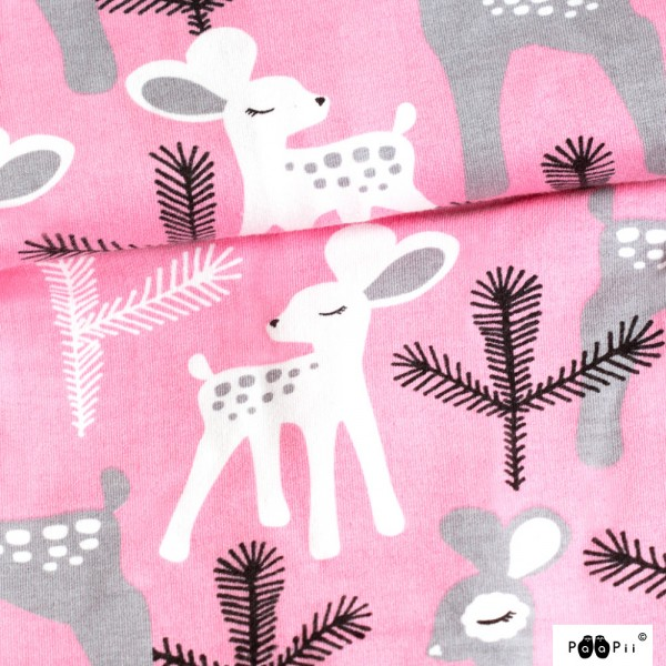 Bambi rosa, Bio-Sweat, *Letztes Stück ca. 70 cm*