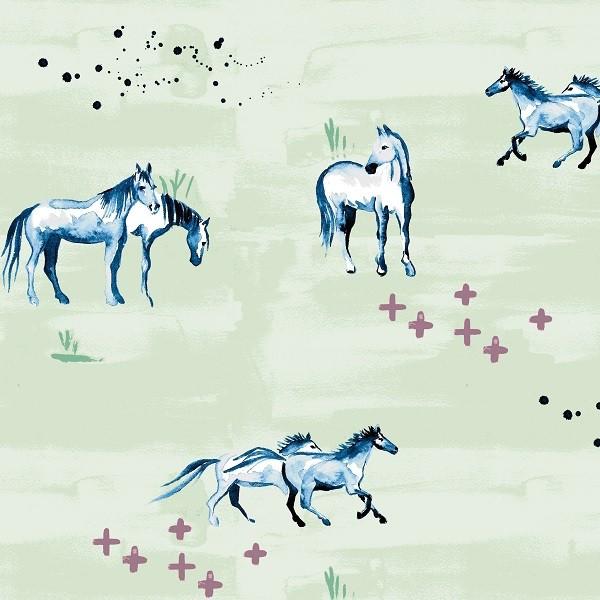 Monaluna, Wanderlust, Wild Horses, Bio-Webstoff